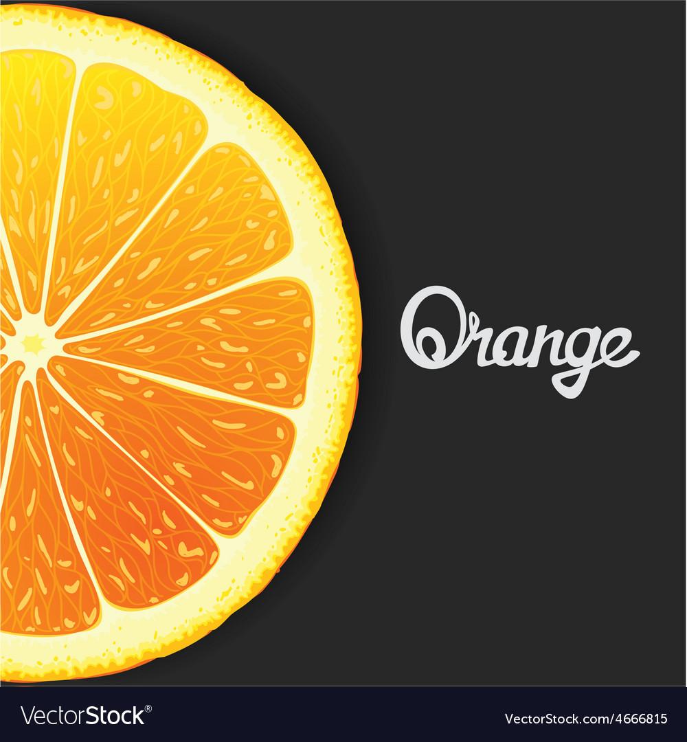 Just orange vector | Price: 1 Credit (USD $1)