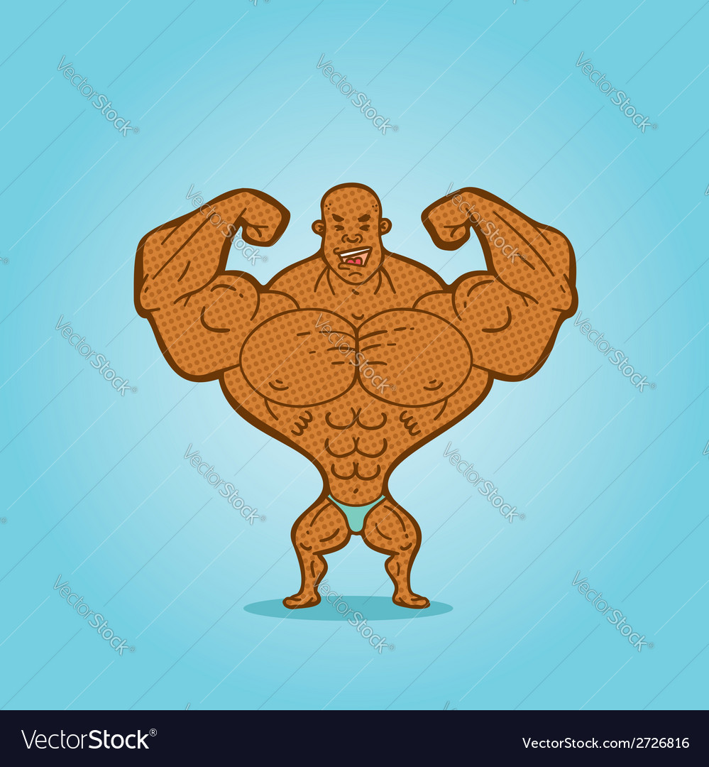 Bodybuilder vector   Price: 1 Credit (USD $1)