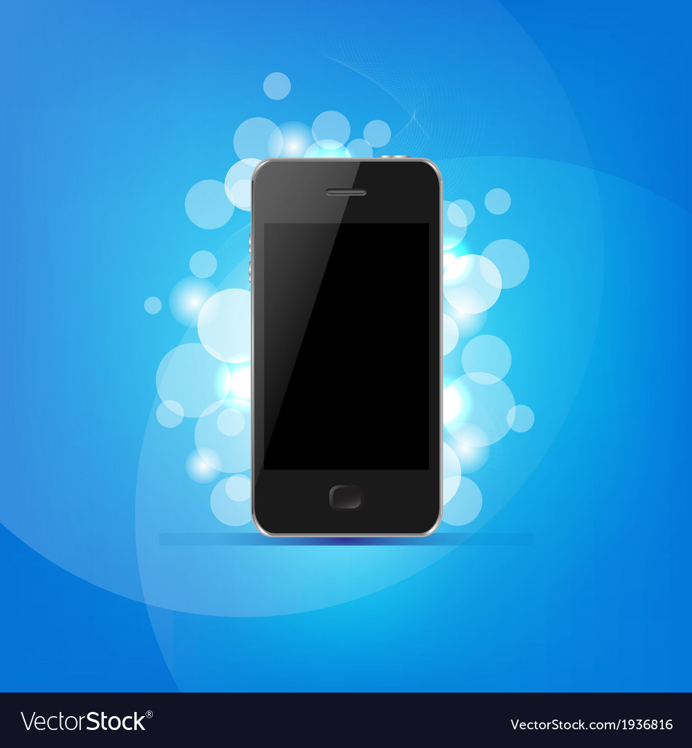 Phone and bokeh vector   Price: 1 Credit (USD $1)