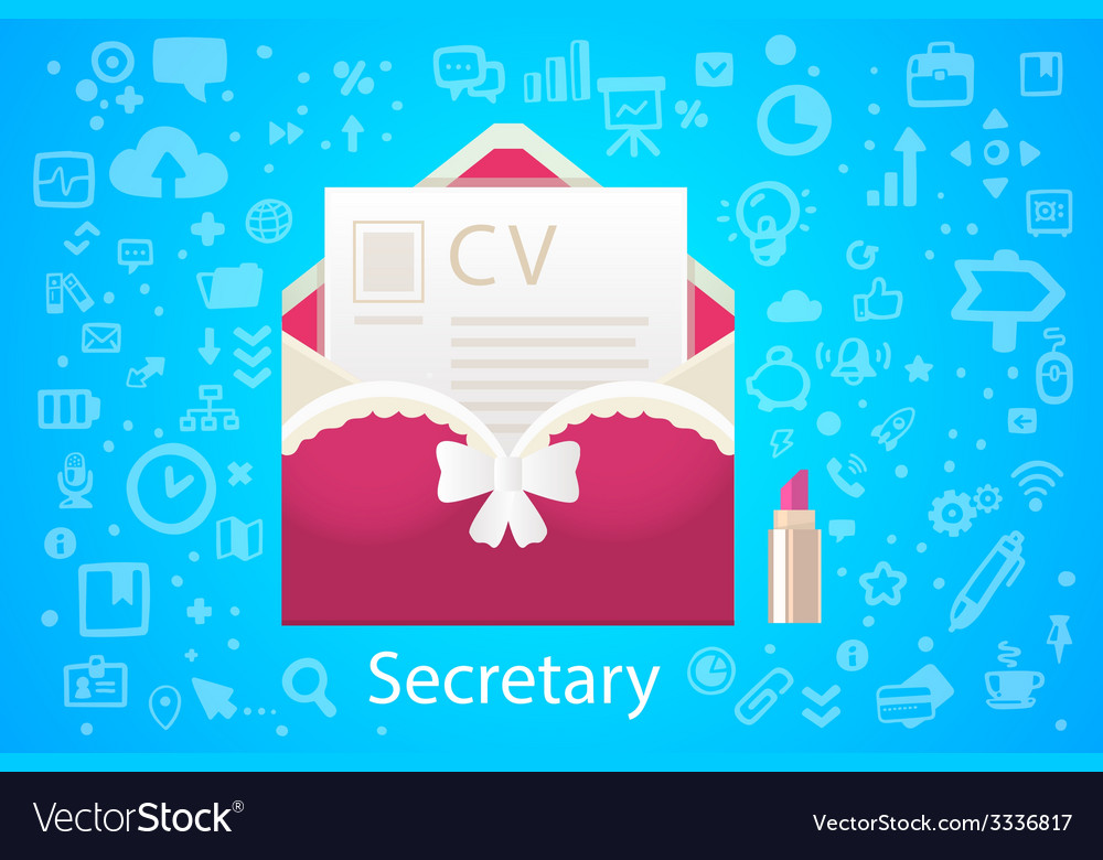 Character envelope office occupation with vector | Price: 3 Credit (USD $3)