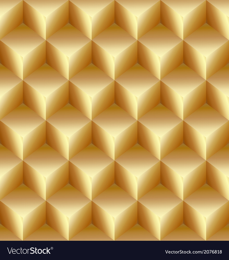 Abstract gold seamless pattern made from stacked vector | Price: 1 Credit (USD $1)