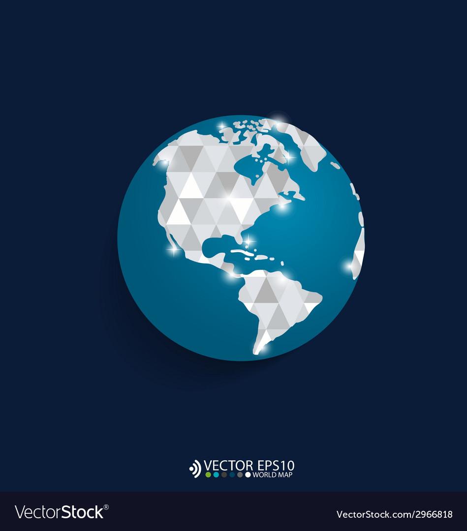 Modern globe design vector   Price: 1 Credit (USD $1)