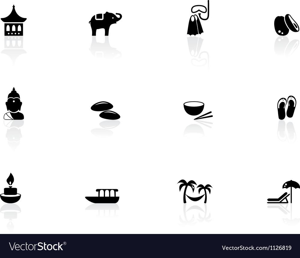 Thai icons vector | Price: 1 Credit (USD $1)