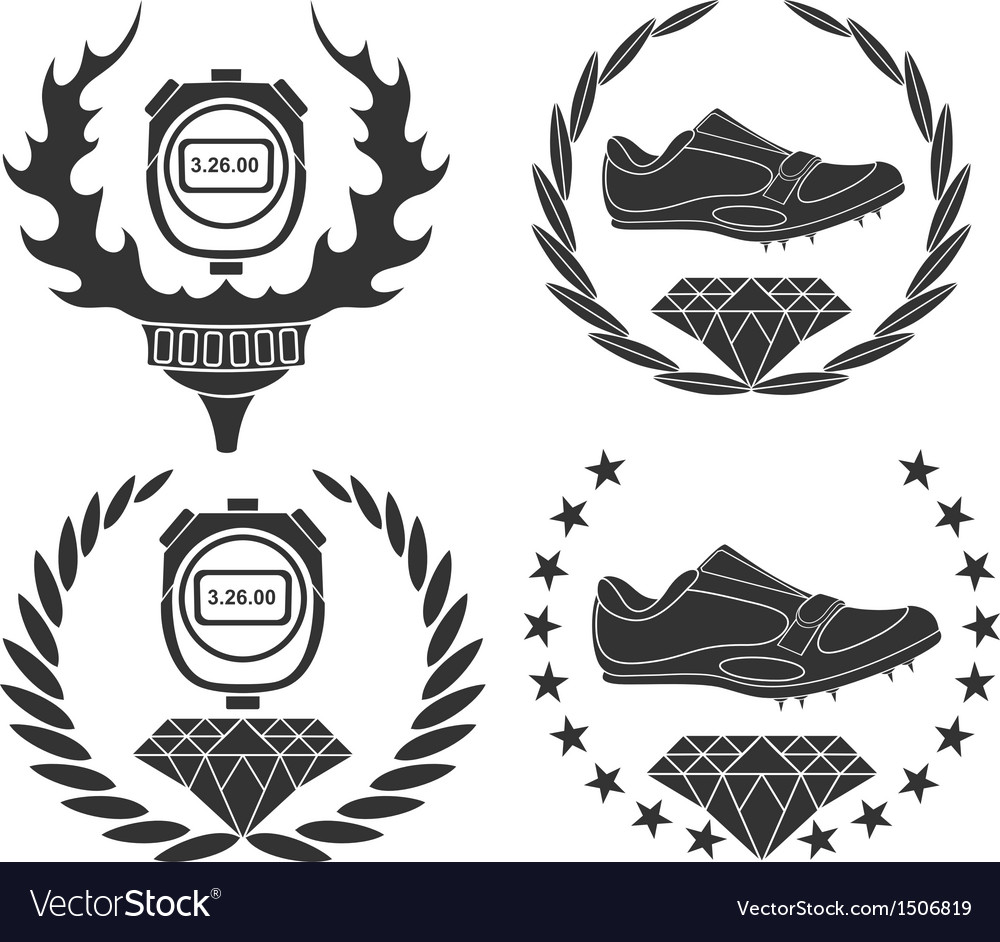 Track and field athletics vector | Price: 3 Credit (USD $3)