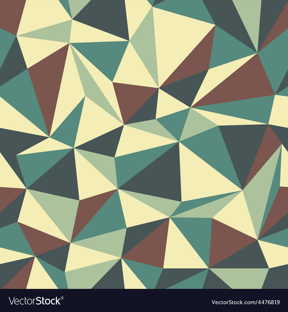 Triangle pattern vintage vector | Price: 1 Credit (USD $1)