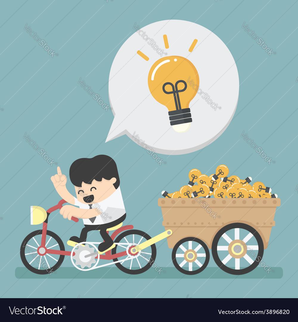 Businessman has an idea vector | Price: 1 Credit (USD $1)