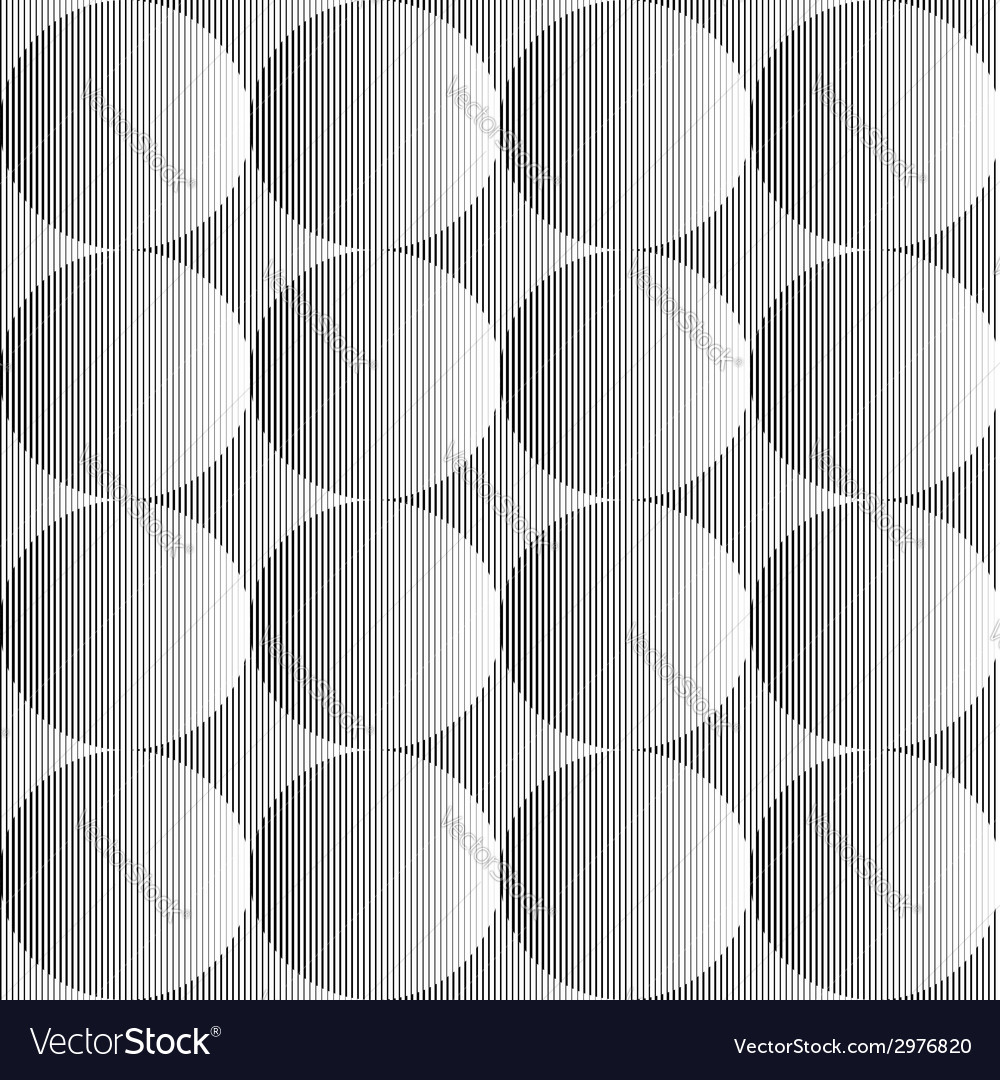 Design seamless monochrome sphere pattern vector | Price: 1 Credit (USD $1)