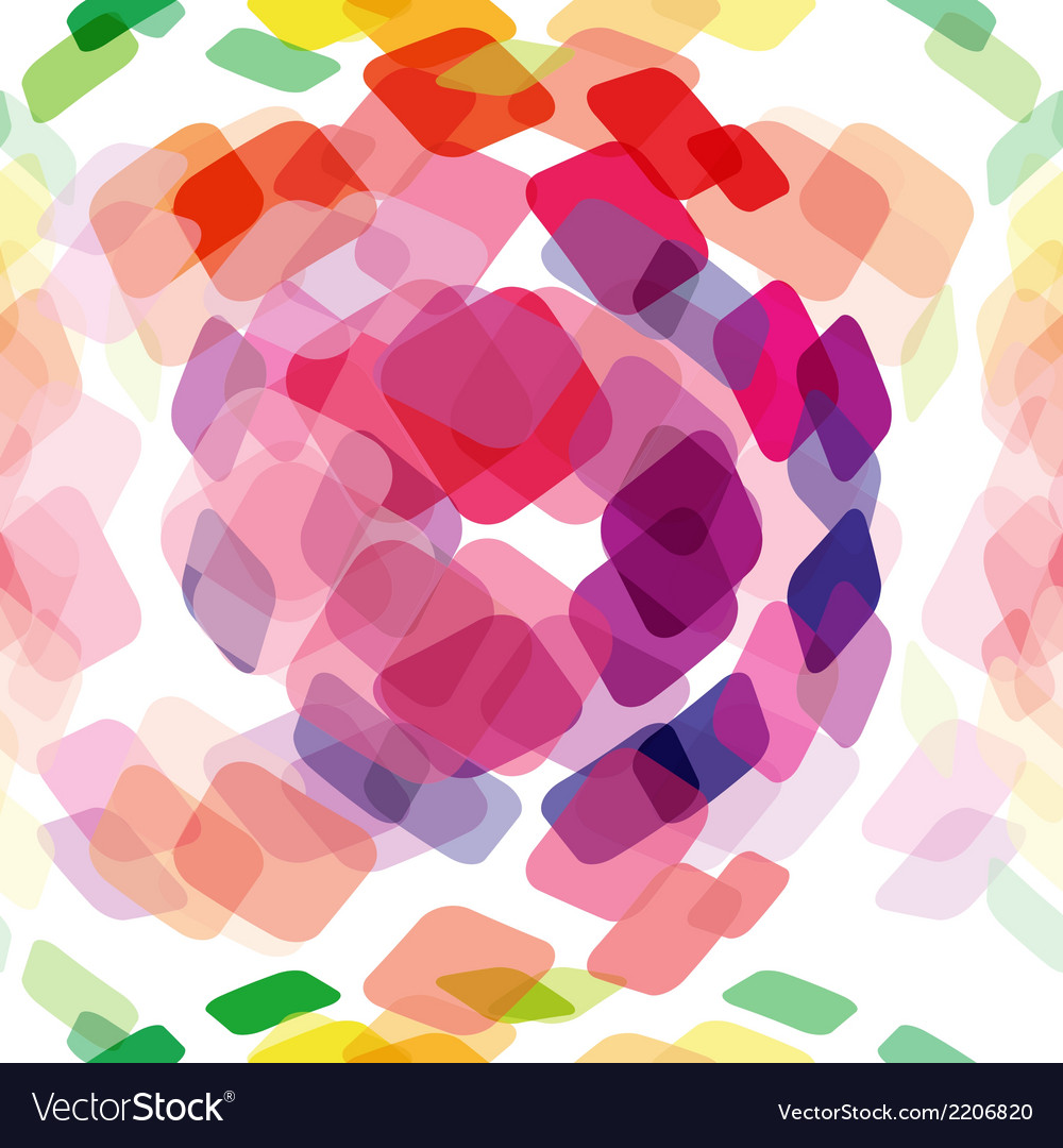 Seamless abstract background with squares vector | Price: 1 Credit (USD $1)