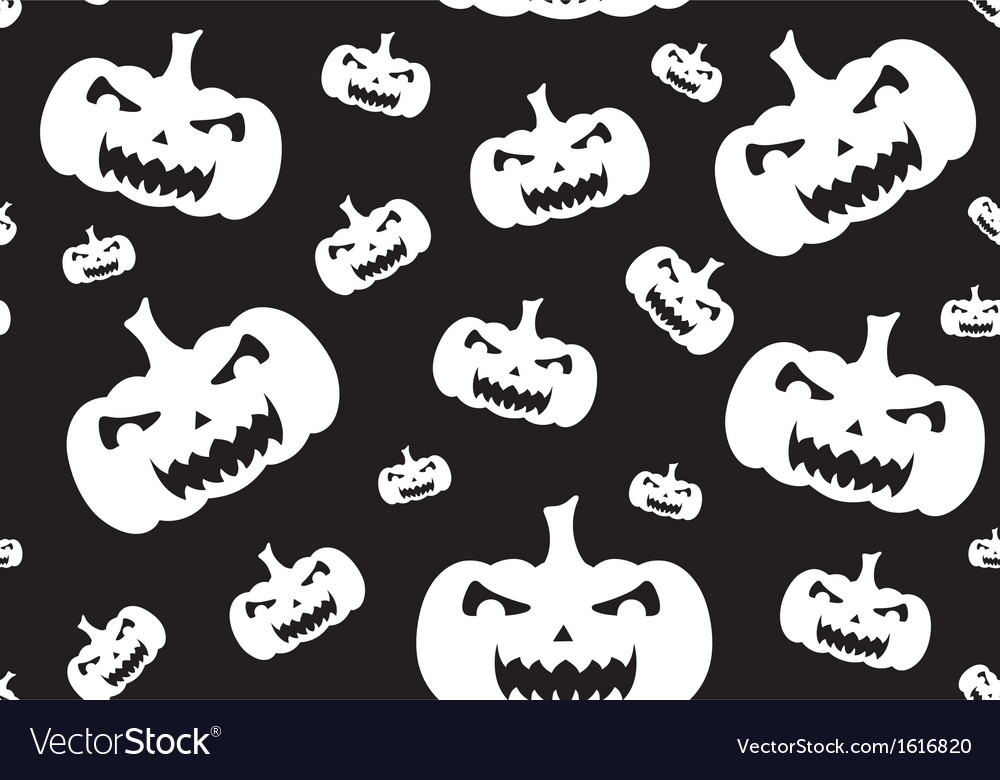 Seamless halloween background vector | Price: 1 Credit (USD $1)