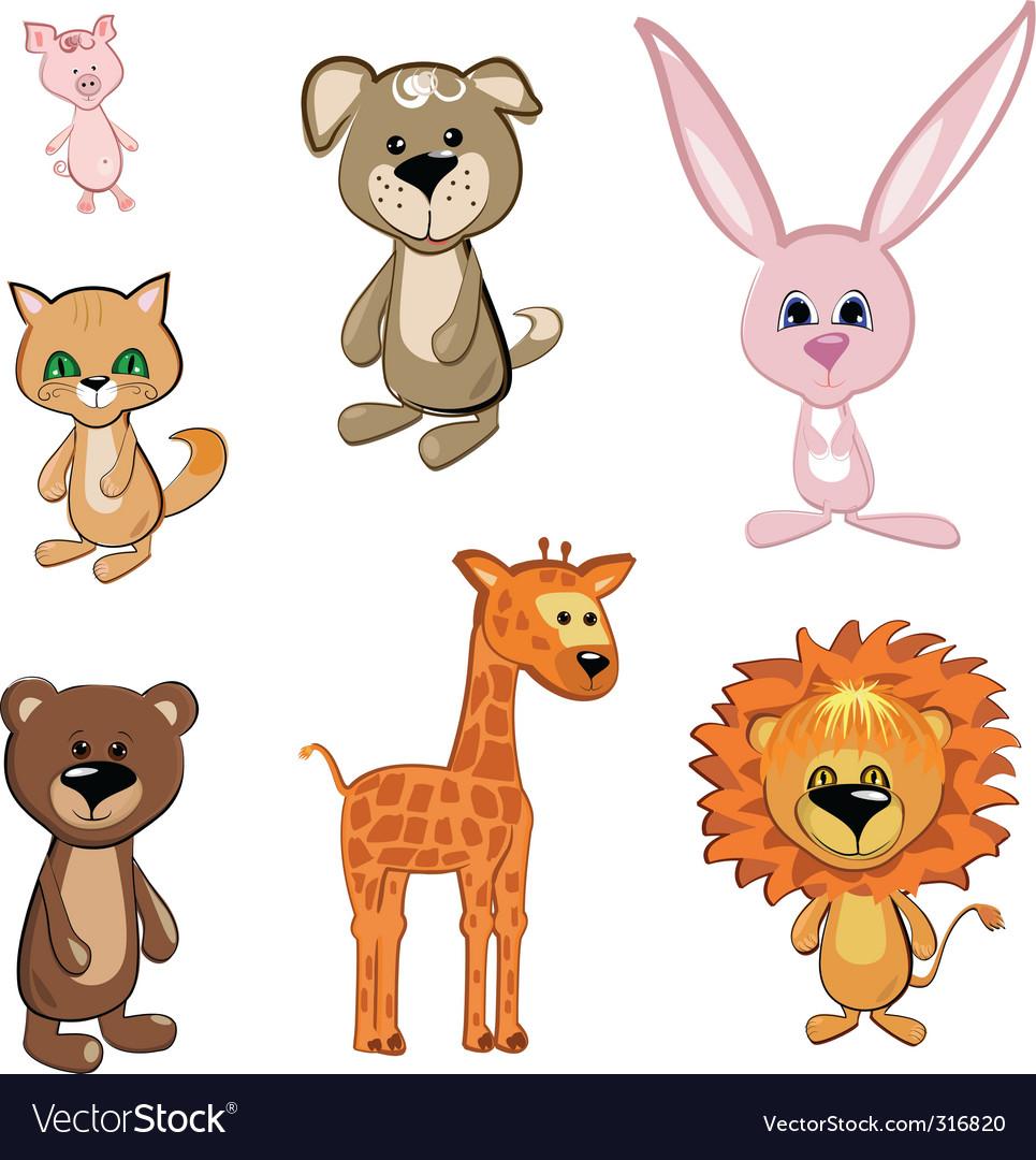 Toy animals vector   Price: 3 Credit (USD $3)