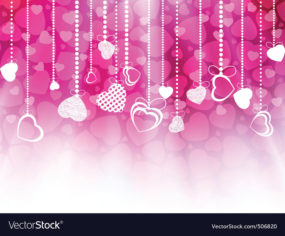 Valentines day card template eps 8 vector | Price: 1 Credit (USD $1)