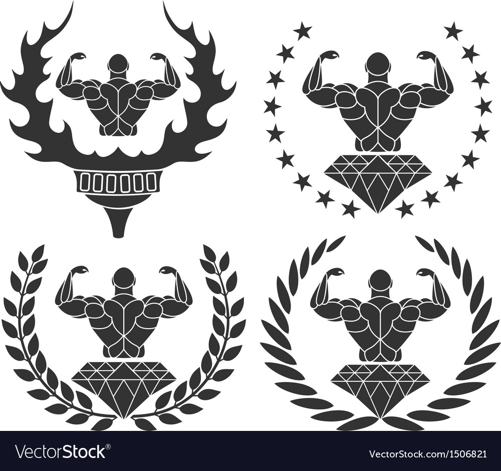Bodybuilding vector | Price: 3 Credit (USD $3)