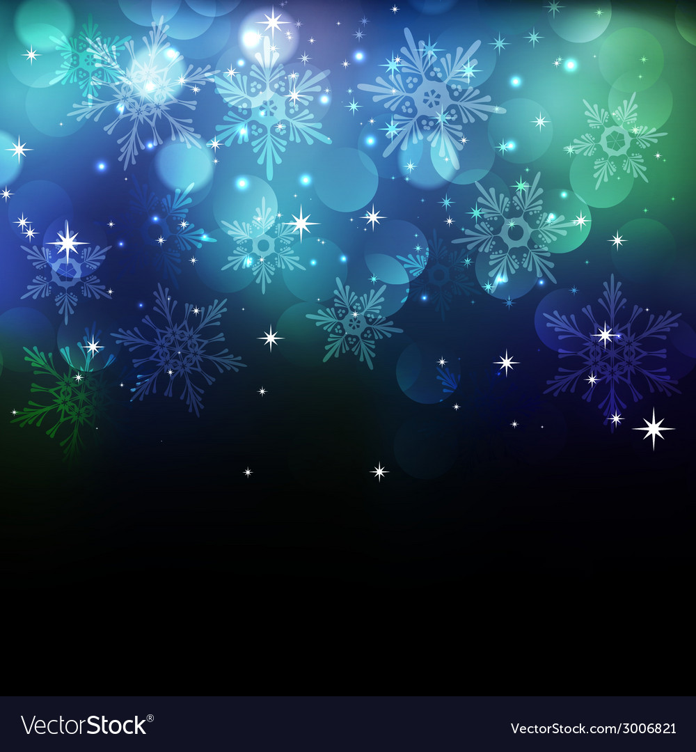 Christmas snowflkes background vector | Price: 1 Credit (USD $1)