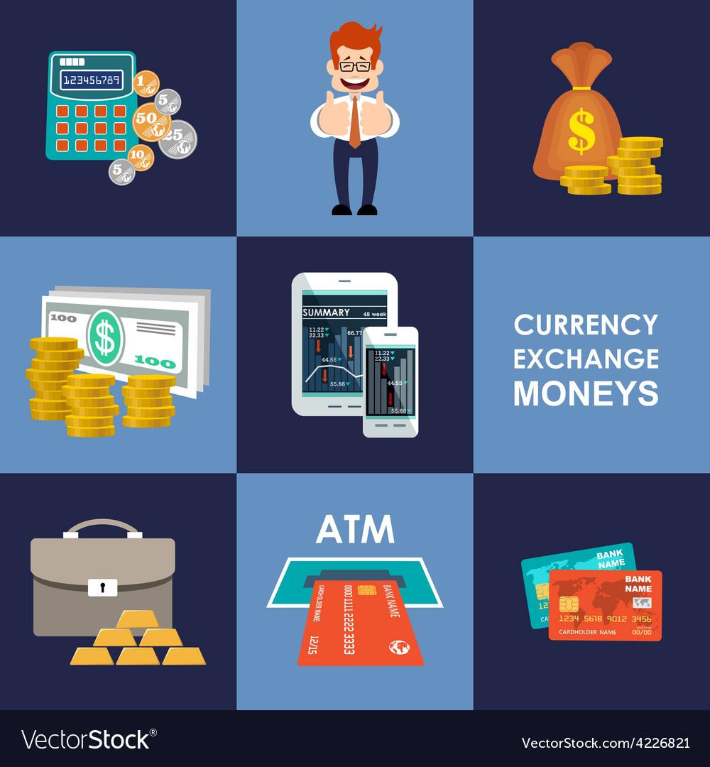 Finance  banking set vector   Price: 1 Credit (USD $1)