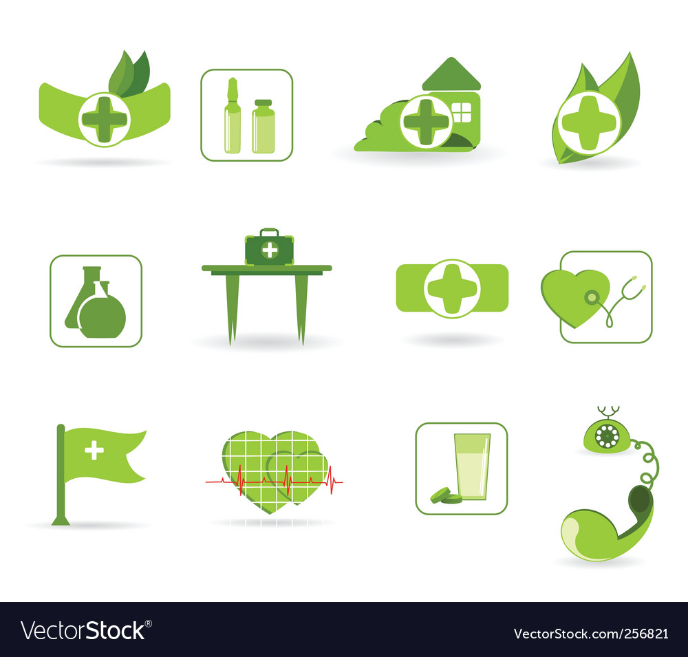 First aid an icons vector | Price: 1 Credit (USD $1)
