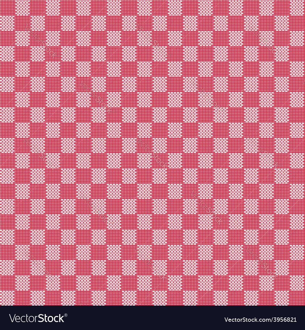 Red seamless fabric texture pattern vector | Price: 1 Credit (USD $1)