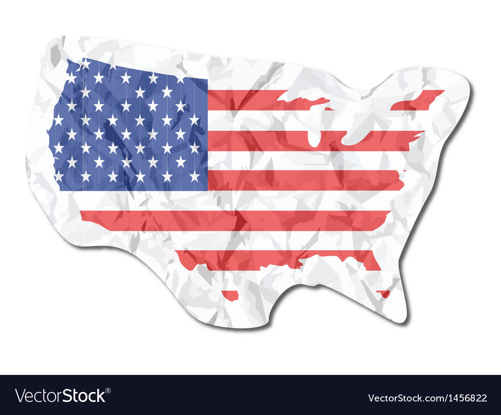 America map vector | Price: 1 Credit (USD $1)