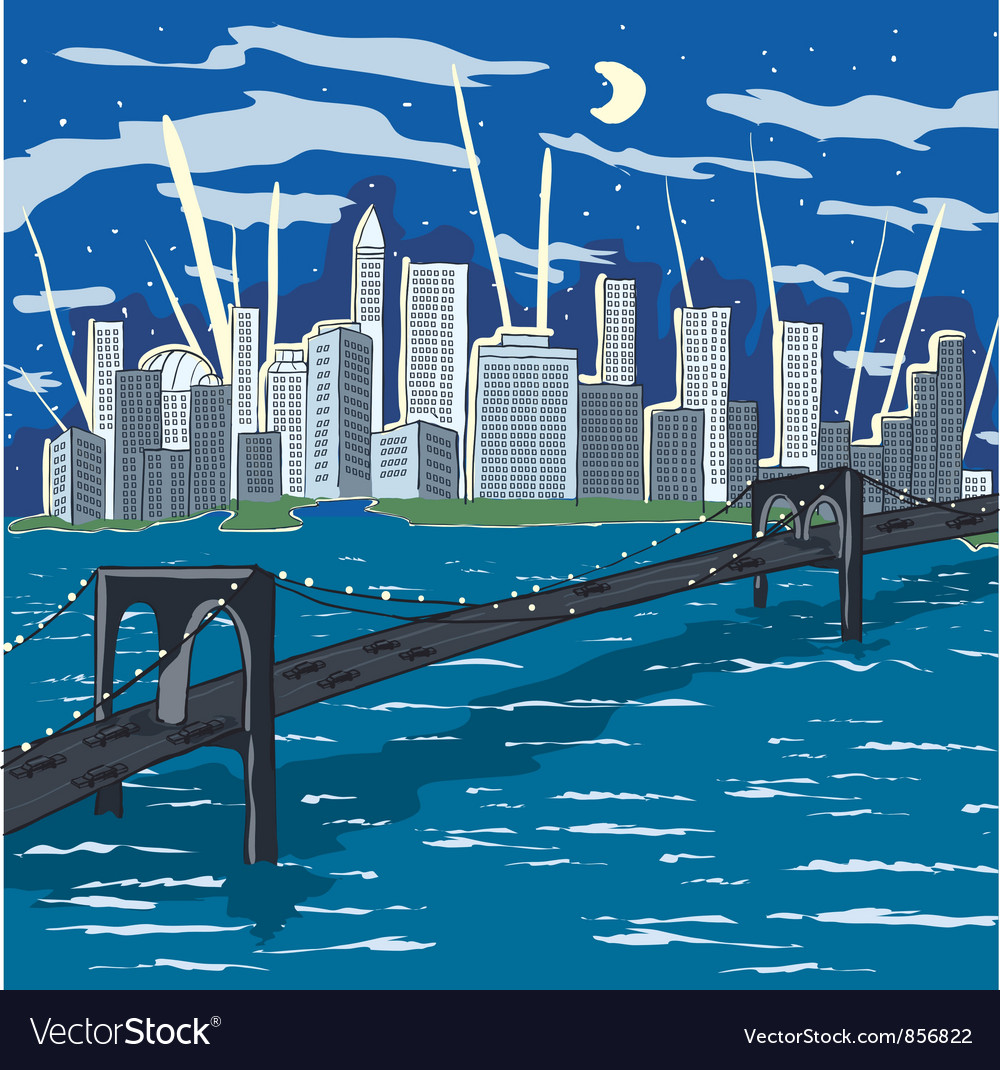 New york doodles vector | Price: 1 Credit (USD $1)