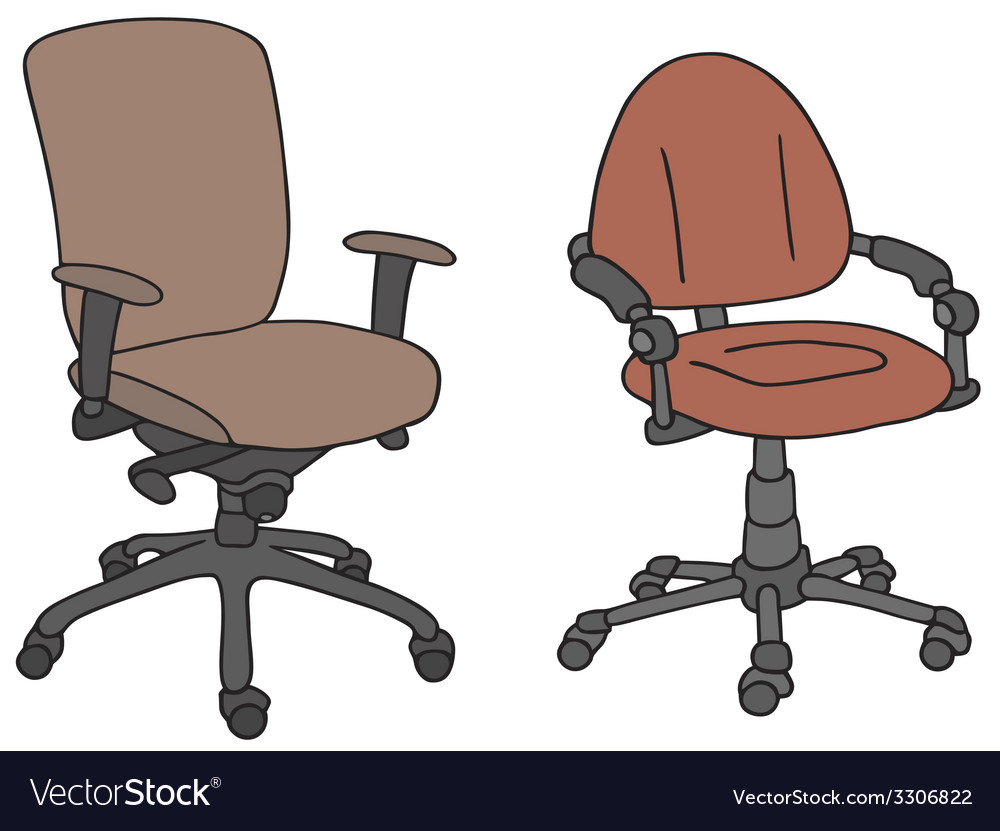 Office armchairs vector | Price: 1 Credit (USD $1)