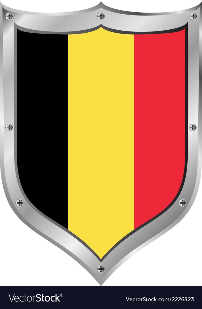 Belgium flag button vector   Price: 1 Credit (USD $1)