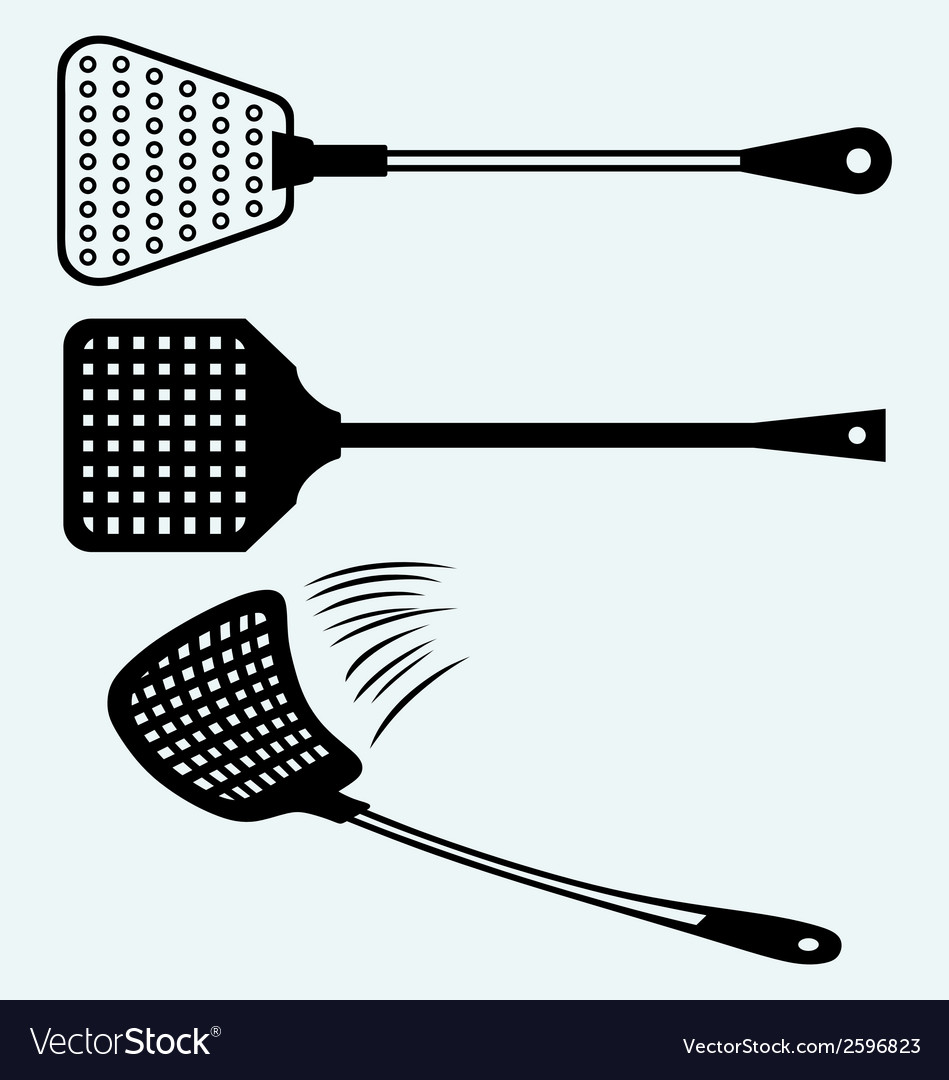 Fly swatter vector | Price: 1 Credit (USD $1)