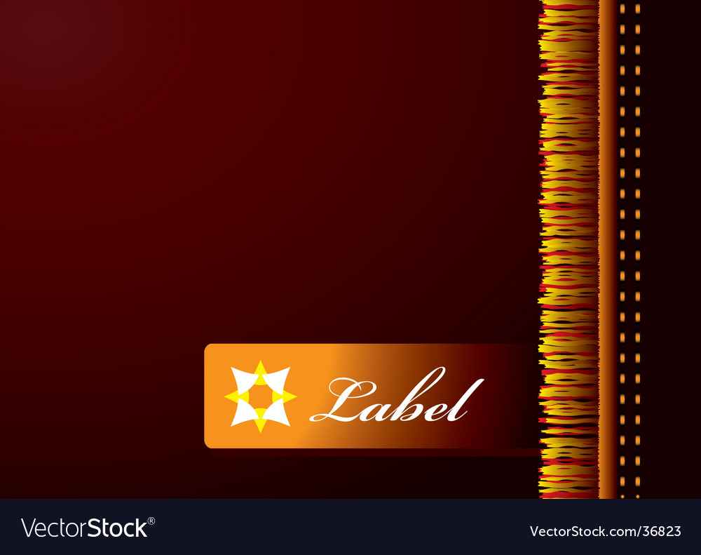 Label close vector | Price: 1 Credit (USD $1)