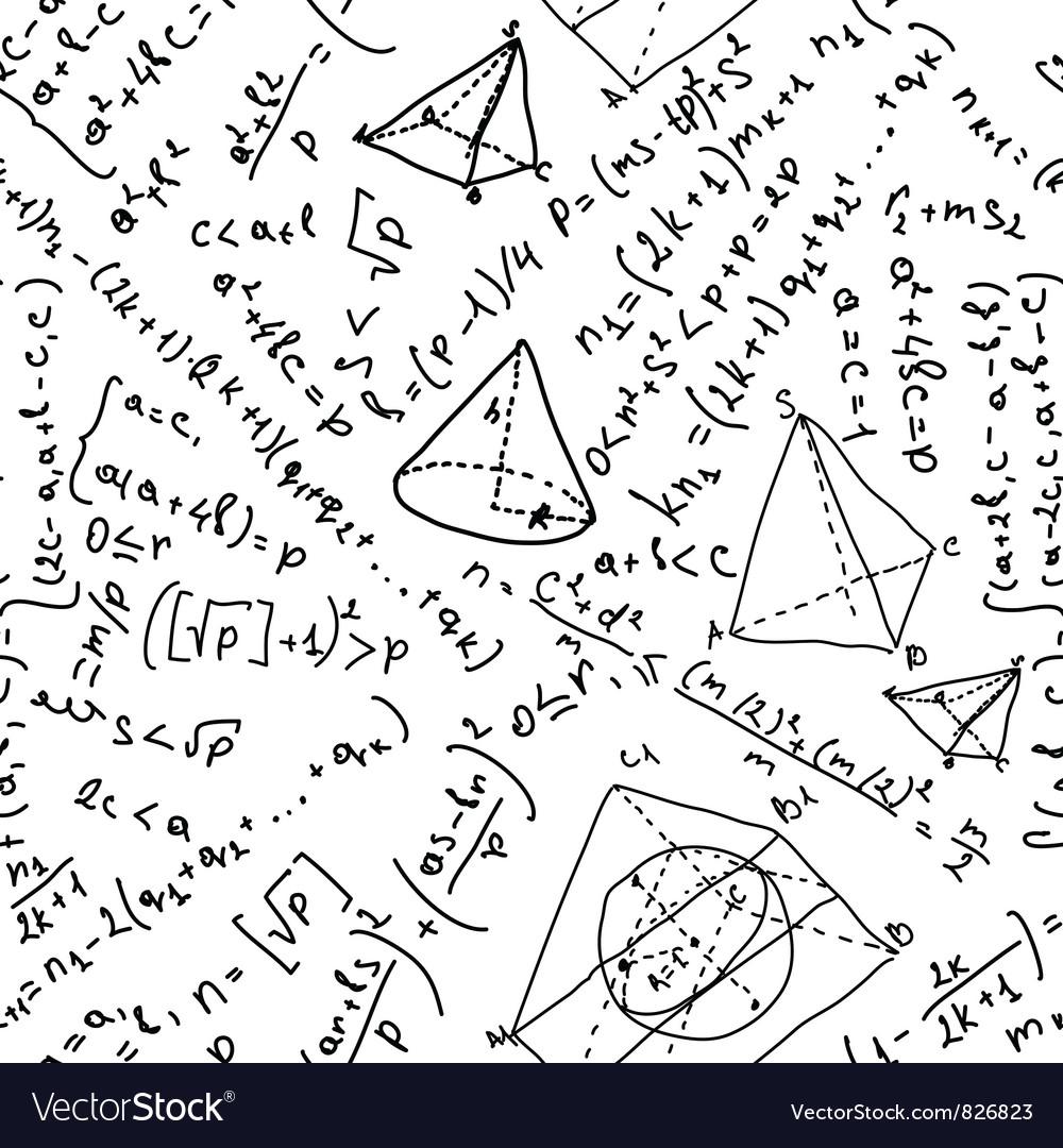 Mathematics pattern vector | Price: 1 Credit (USD $1)
