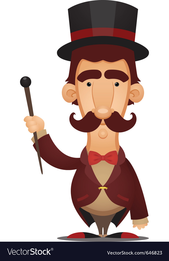 Ringmaster vector | Price: 3 Credit (USD $3)
