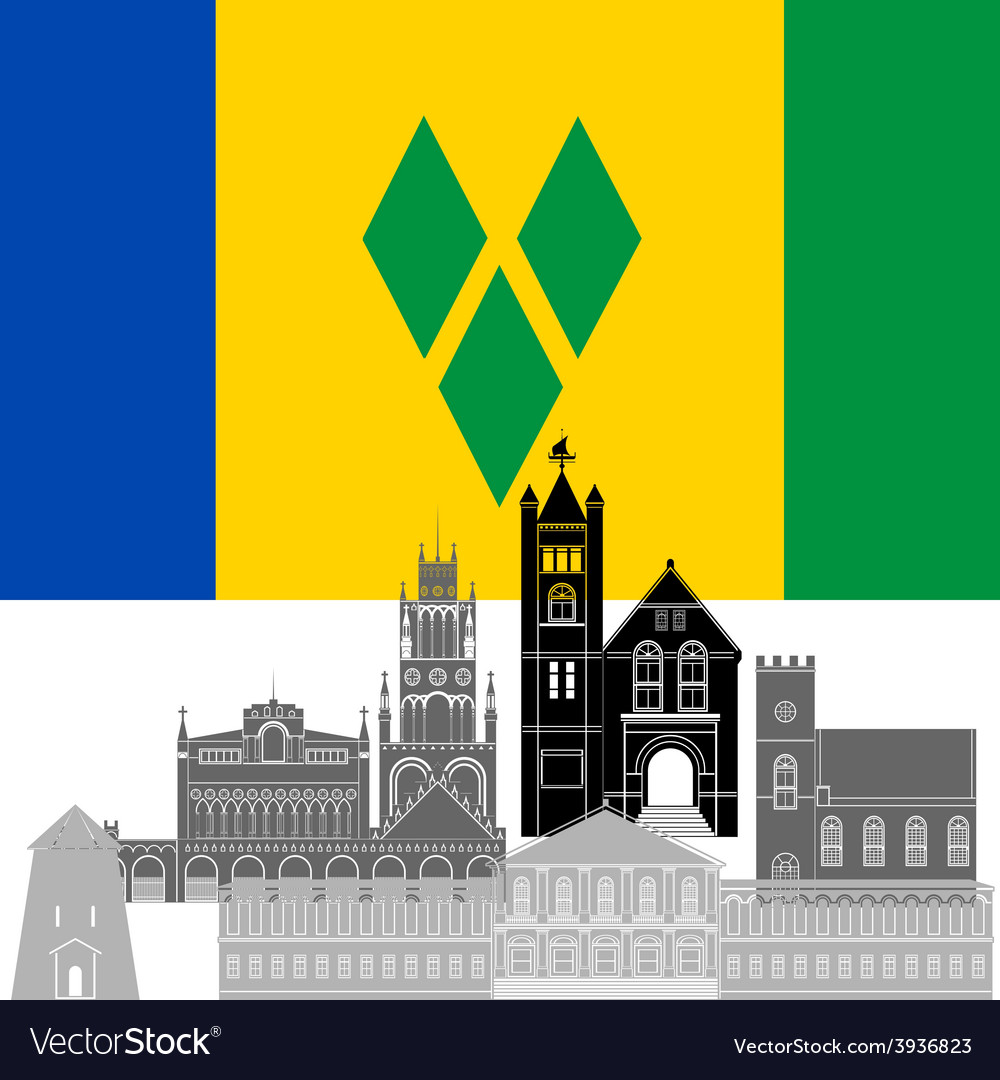 Saint vincent and the grenadines vector   Price: 1 Credit (USD $1)