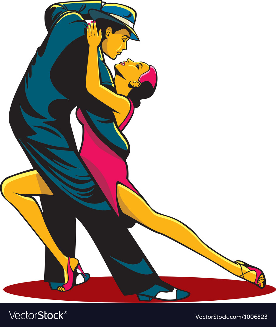 Tango color vector | Price: 1 Credit (USD $1)