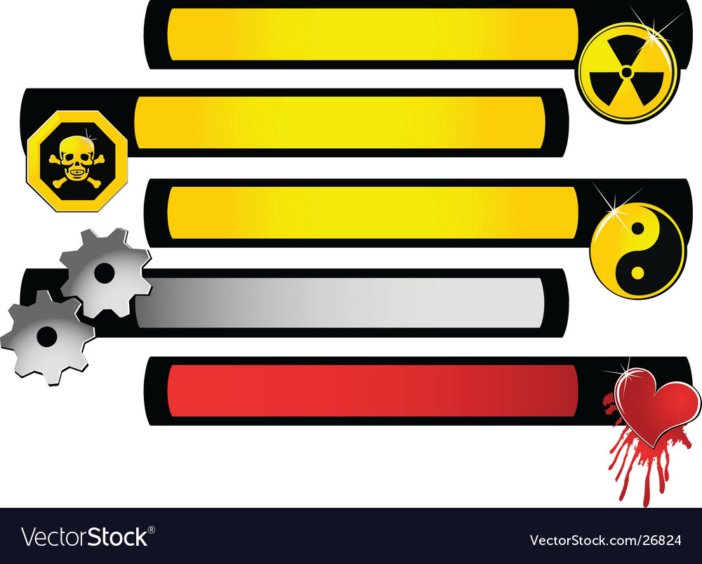 Symbol banner vector | Price: 1 Credit (USD $1)
