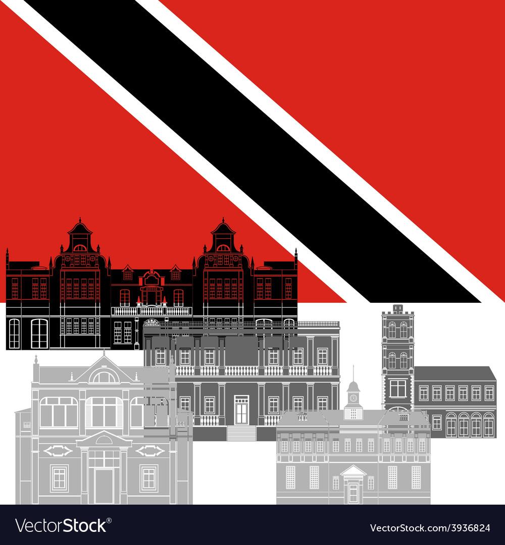 Trinidad and tobago vector | Price: 1 Credit (USD $1)