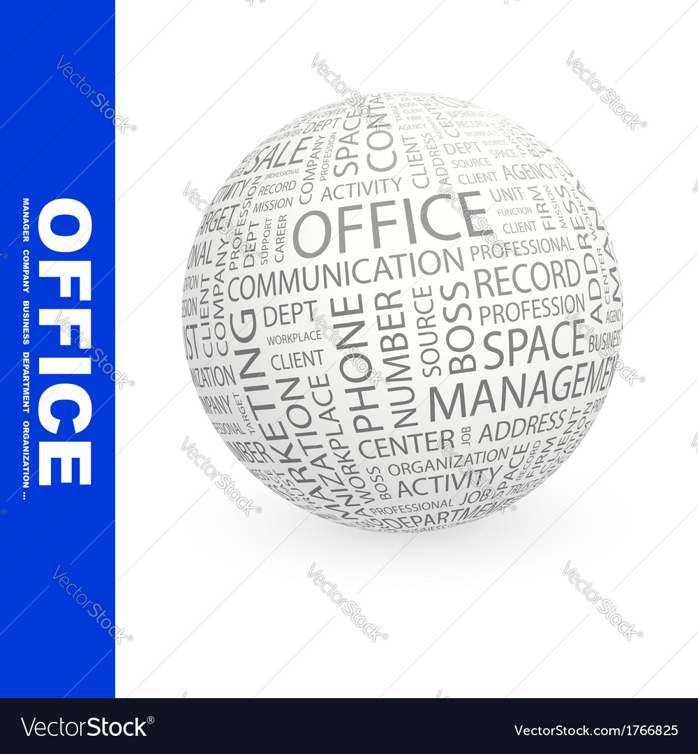 Office vector | Price: 1 Credit (USD $1)