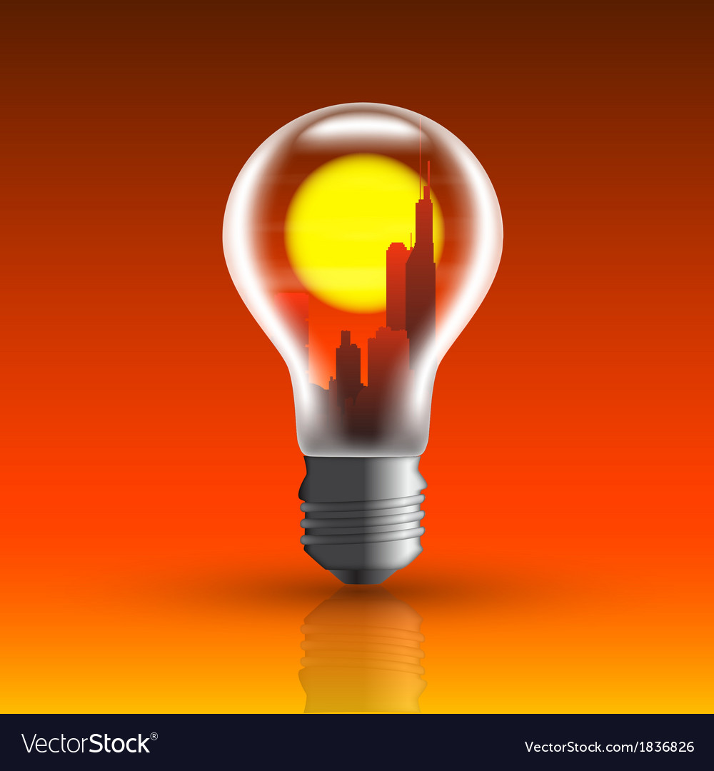 Bulb 2 vector | Price: 1 Credit (USD $1)