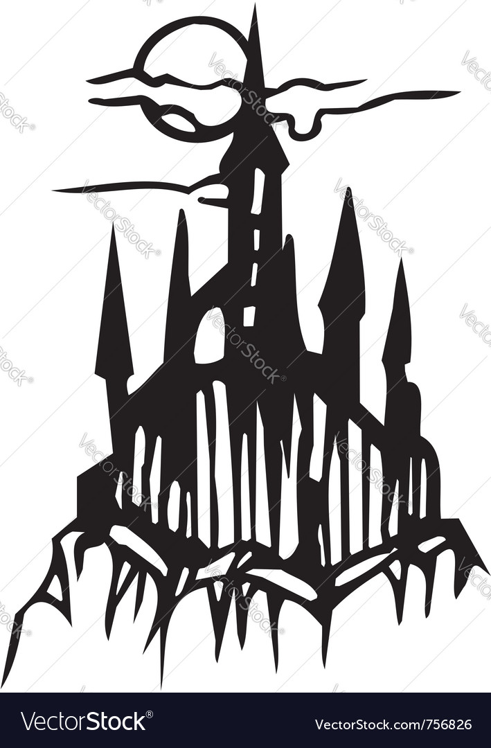Castle - halloween set - vector | Price: 1 Credit (USD $1)