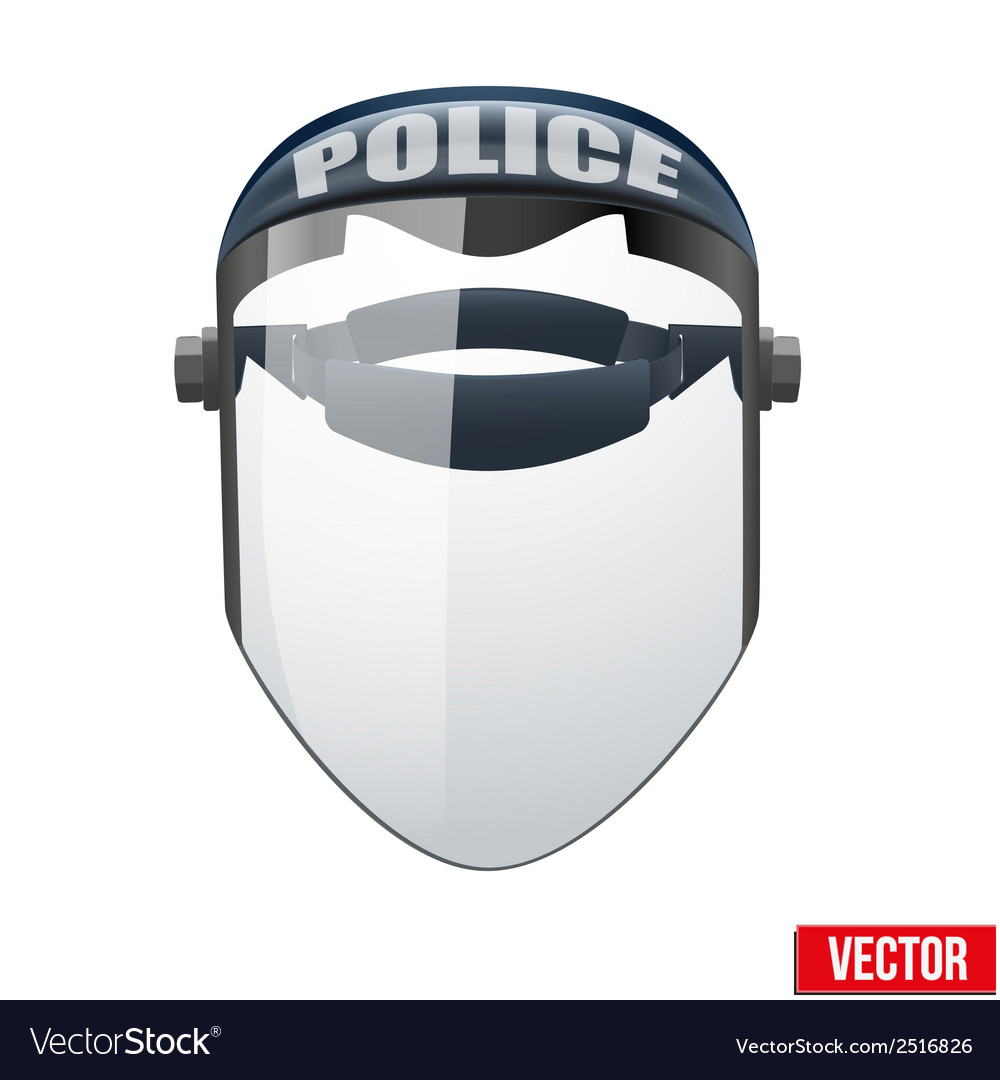 Police protect mask vector | Price: 1 Credit (USD $1)