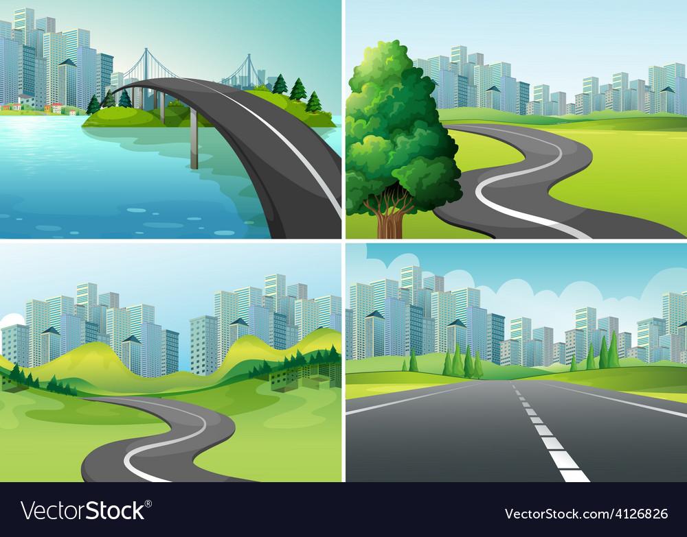 Roads vector | Price: 3 Credit (USD $3)