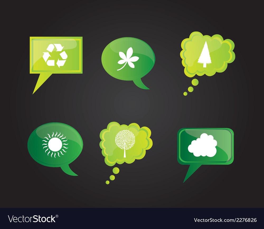 Social media design elements vector | Price: 1 Credit (USD $1)