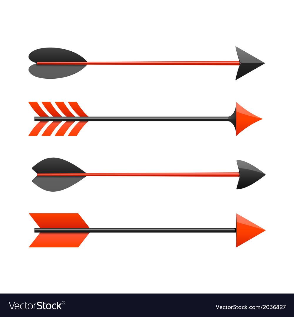 Bow arrows vector | Price: 1 Credit (USD $1)