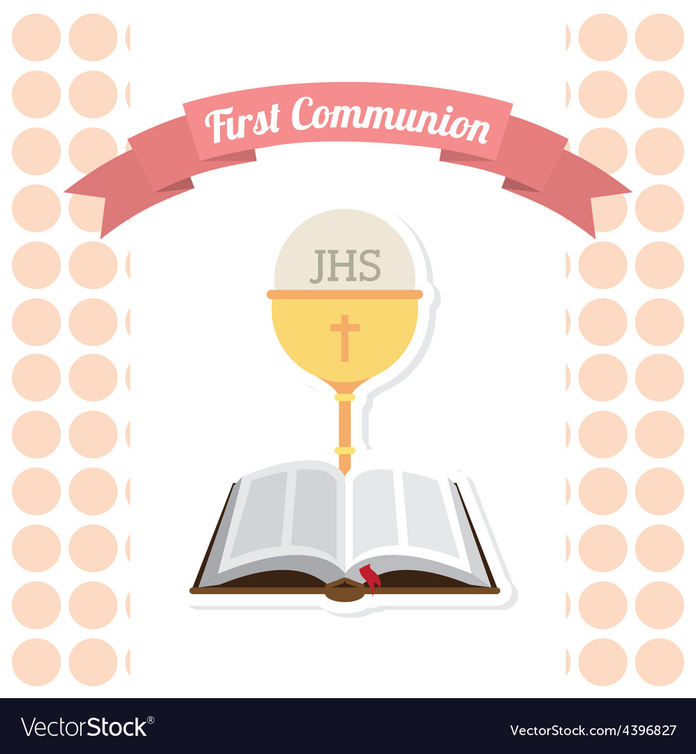 First communion vector   Price: 1 Credit (USD $1)