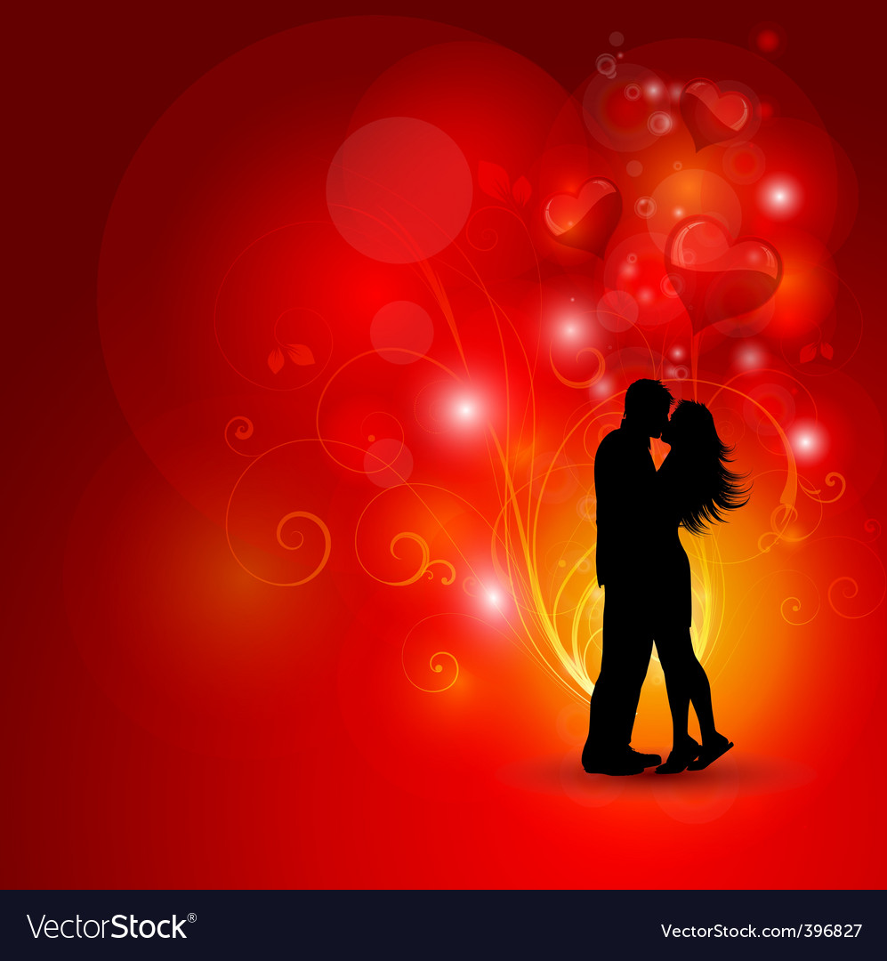 Loving couple vector | Price: 1 Credit (USD $1)