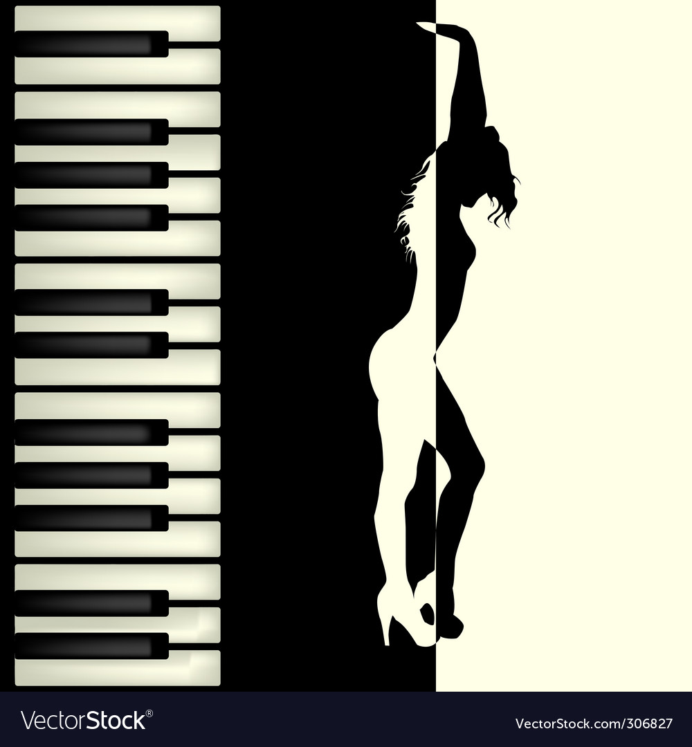 Piano bar vector | Price: 1 Credit (USD $1)