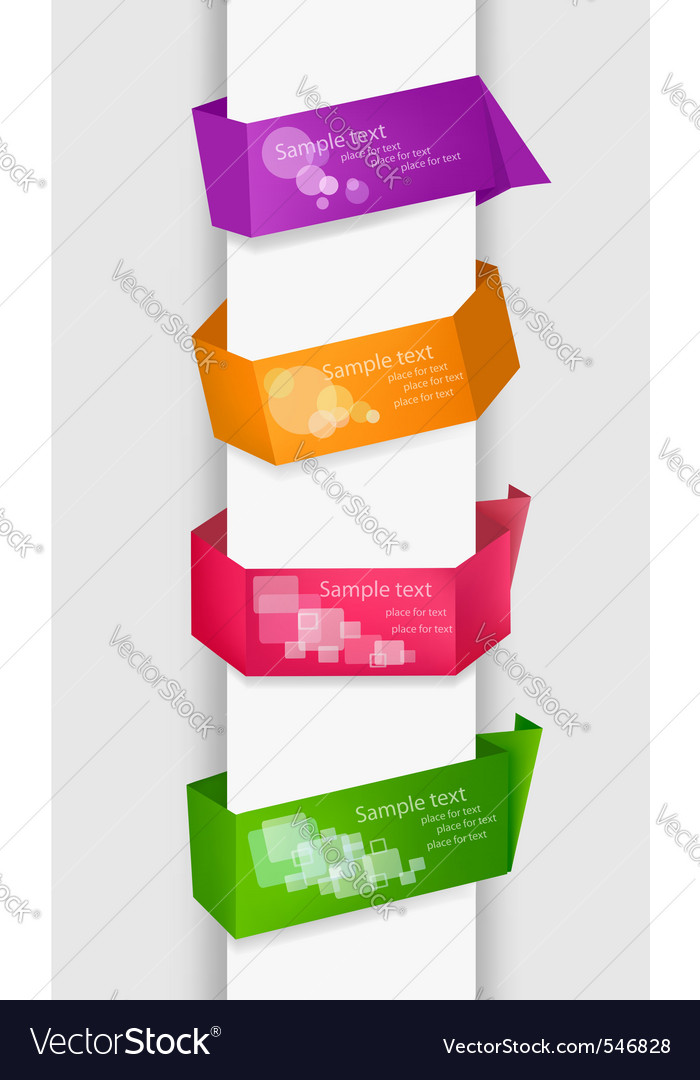 Empty colorful paper tags vector   Price: 1 Credit (USD $1)