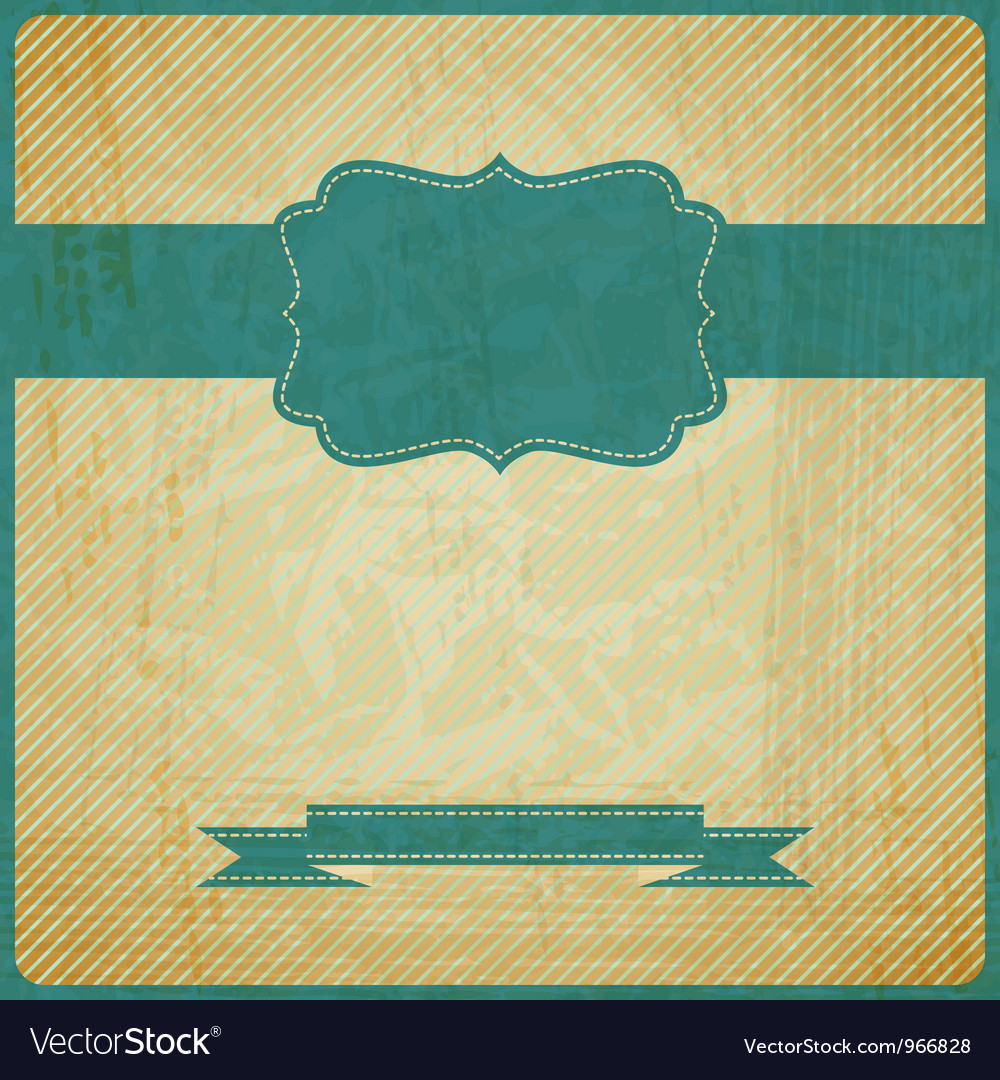 Eps10 vintage grunge old card background with vector | Price: 1 Credit (USD $1)
