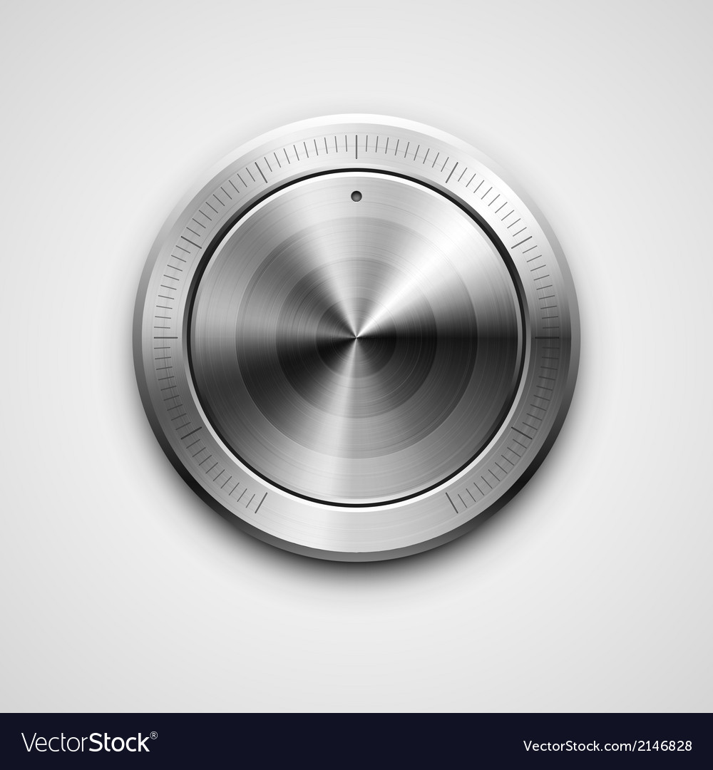 Metallic knob vector | Price: 1 Credit (USD $1)