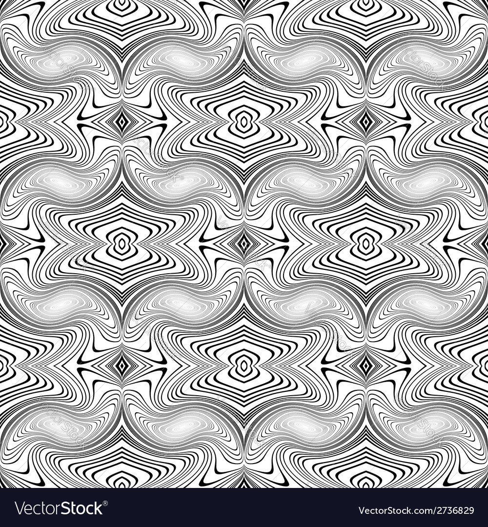 Design seamless decorative pattern vector | Price: 1 Credit (USD $1)