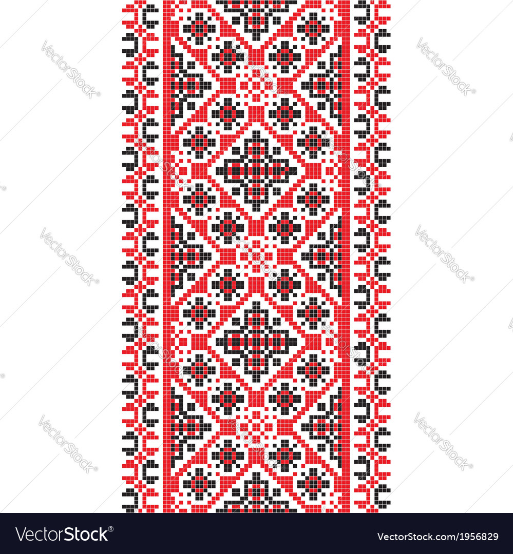 National pattern fabric texture vertical vector | Price: 1 Credit (USD $1)