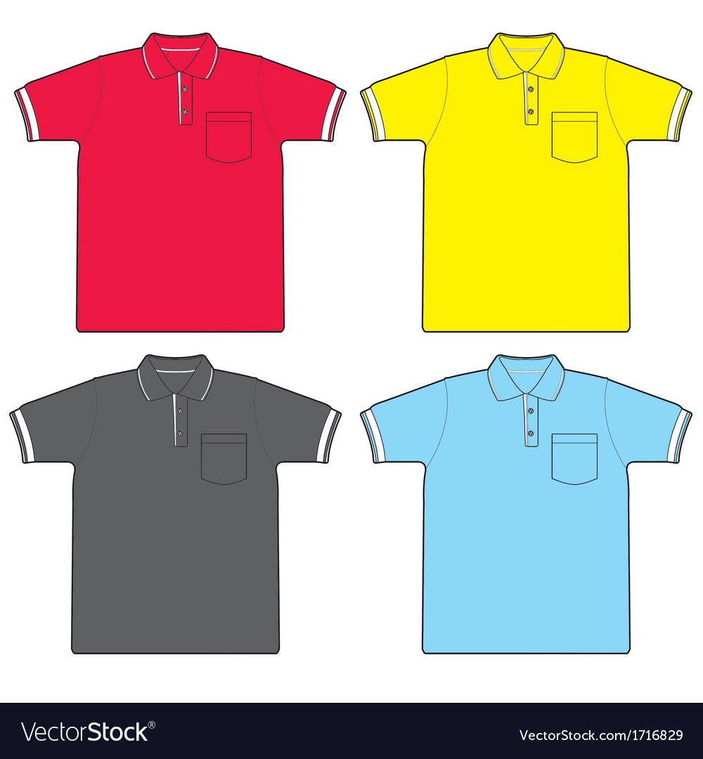 Polo shirt vector | Price: 1 Credit (USD $1)