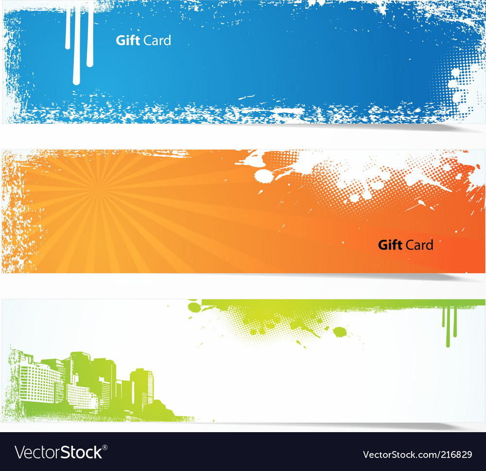 Set of colored banners vector   Price: 1 Credit (USD $1)