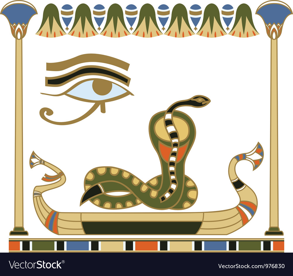 Egypt composition vector | Price: 1 Credit (USD $1)